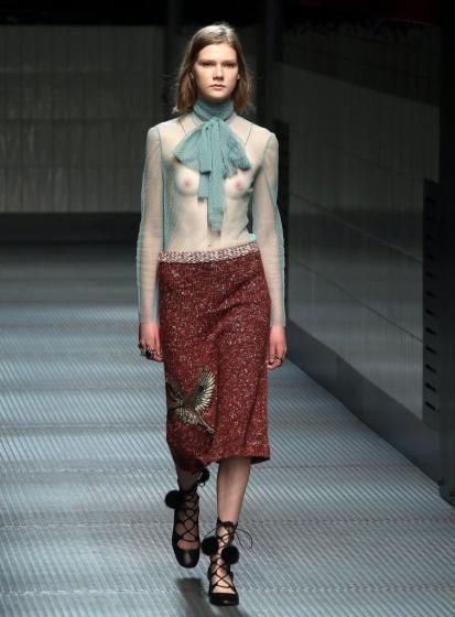Mailänder Modewoche: (Bild: MATTEO BAZZI (ANSA))