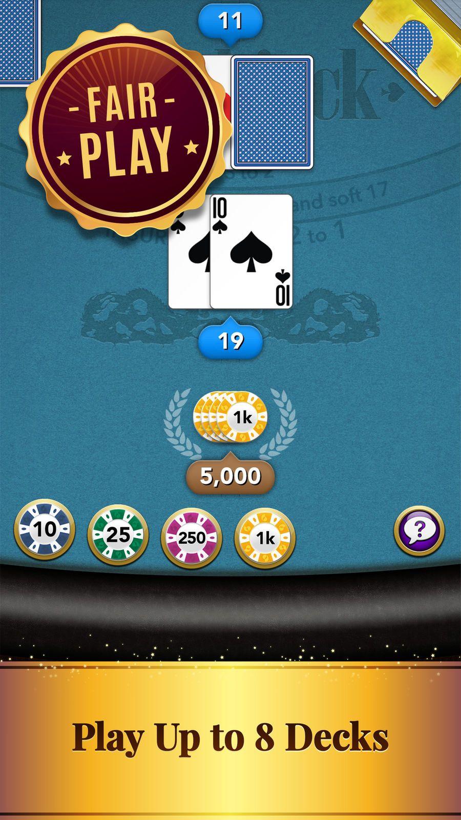 Blackjack Casino Card Game GamesMobilityWareappsios