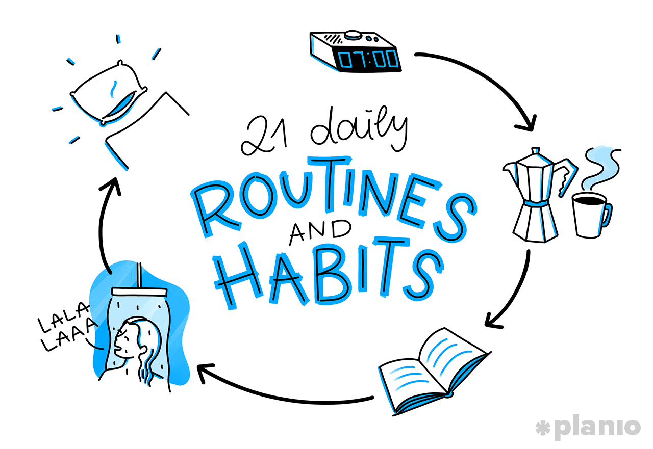 The 21 Daily Routines And Habits Of Highly Productive