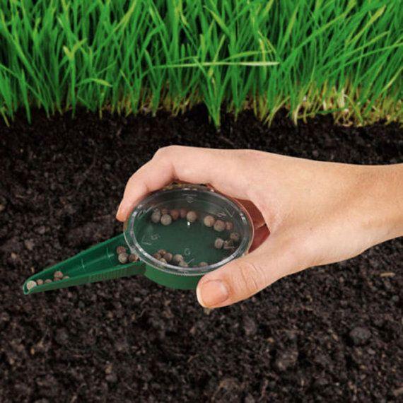 Seeder Garden Tools 5 Size Adjustable Seed Sower Dispenser Seed Sowing Garden Se