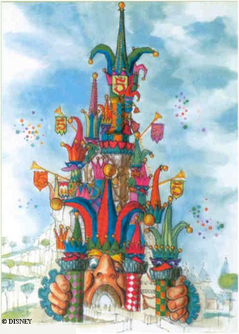 Concept Art For Disneyland