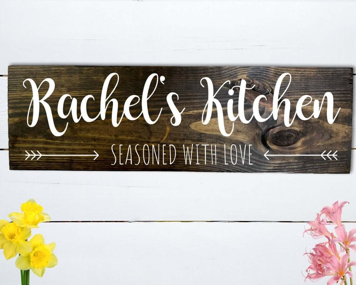 45 Best Kitchen Wall Decor Ideas And Designs For 2021 In 2021 Kitchen Decor Etsy Kitchen Signs Kitchen Decor Signs