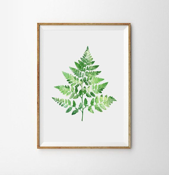 spring art green fern poster garden botanical leaf fresh leaves summer woodland watercolor botany pl is part of Tropical wall art - Spring Art Green Fern Poster Garden Botanical Leaf Fresh leaves summer Woodland Watercolor Botany pl Natureart Green
