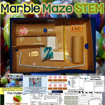 Marble Maze Stem Marble Maze Force And Motion Maze