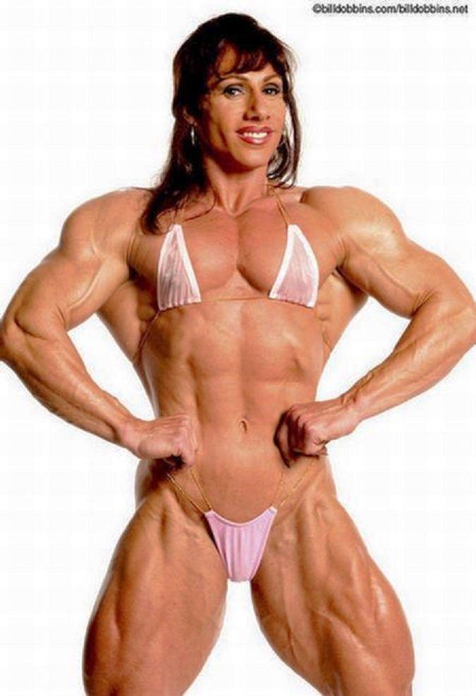 Denise masino denise and roxie muscle love video female bodybuilder
