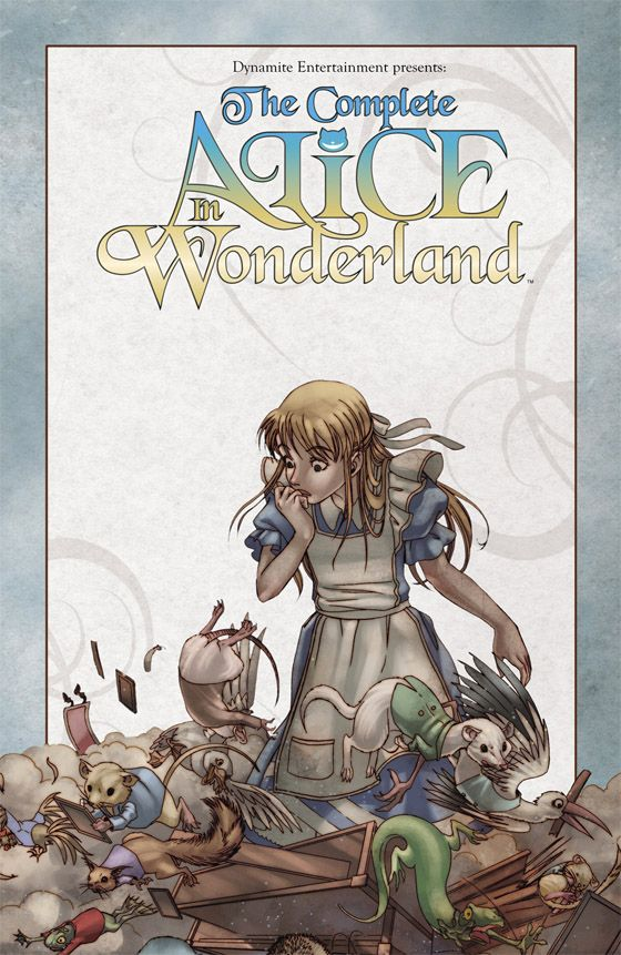 complete alice in wonderland comic book - Google Search