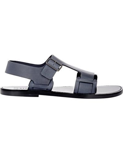 1aa8397ee5f Men s Blue Modified T-Strap Sandals
