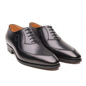Cuir 435 Weston Richelieu Noire Homme Chaussure y67gbf