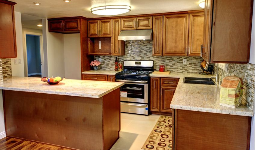 buy pecan rope ready assemble kitchen cabinets lowest price get ...
