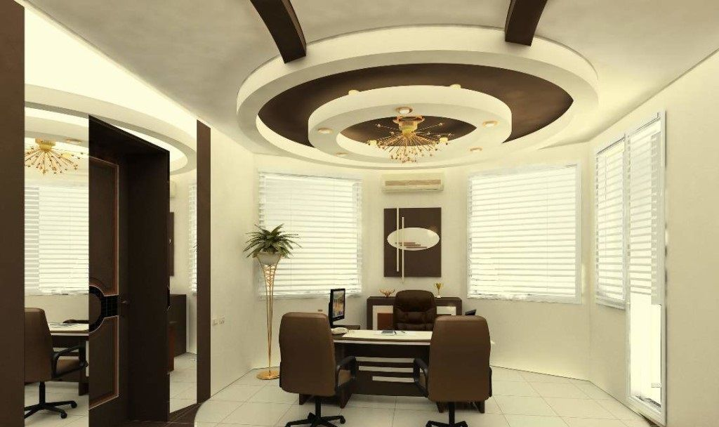 office ceiling design 2018 gypsum board false ceiling ...