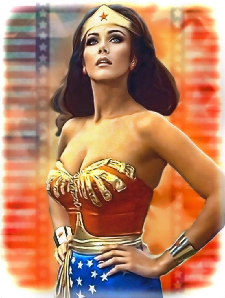 Wonder Woman By Lynda Carter By Petnick Wonder Woman Wonder Woman Pictures Gal Gadot Wonder Woman
