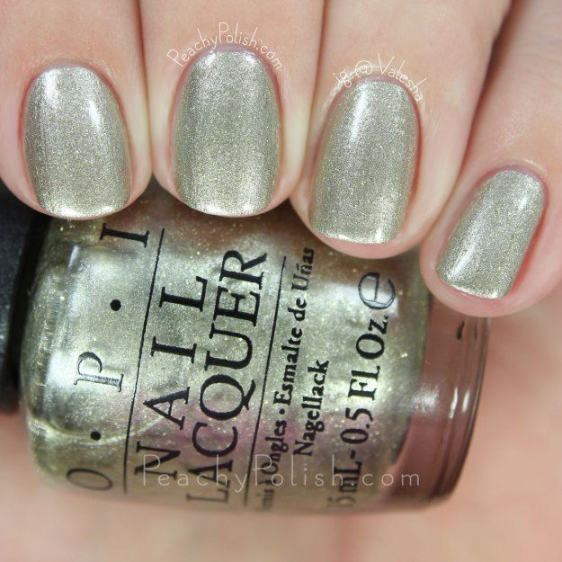 OPI Comet Closer | 2015 Starlight Collection | Peachy Polish | Let\'s ...