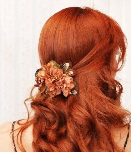 brautfrisuren-für-rote-haare 3 | haar styling