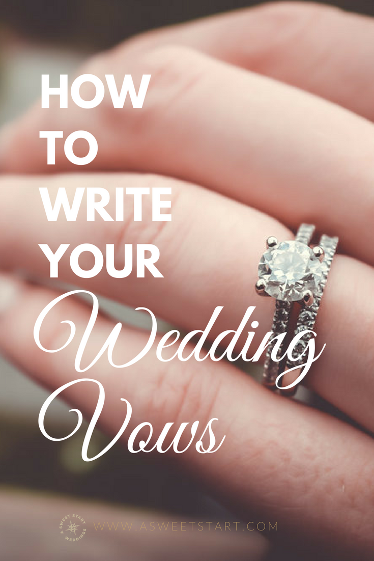 How to write meaningful wedding vows Expensive wedding