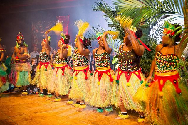 African Theme Party Ideas Female Dancers And