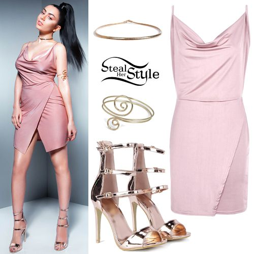 Charli XCX Boohoo SS16 Collection Outfits