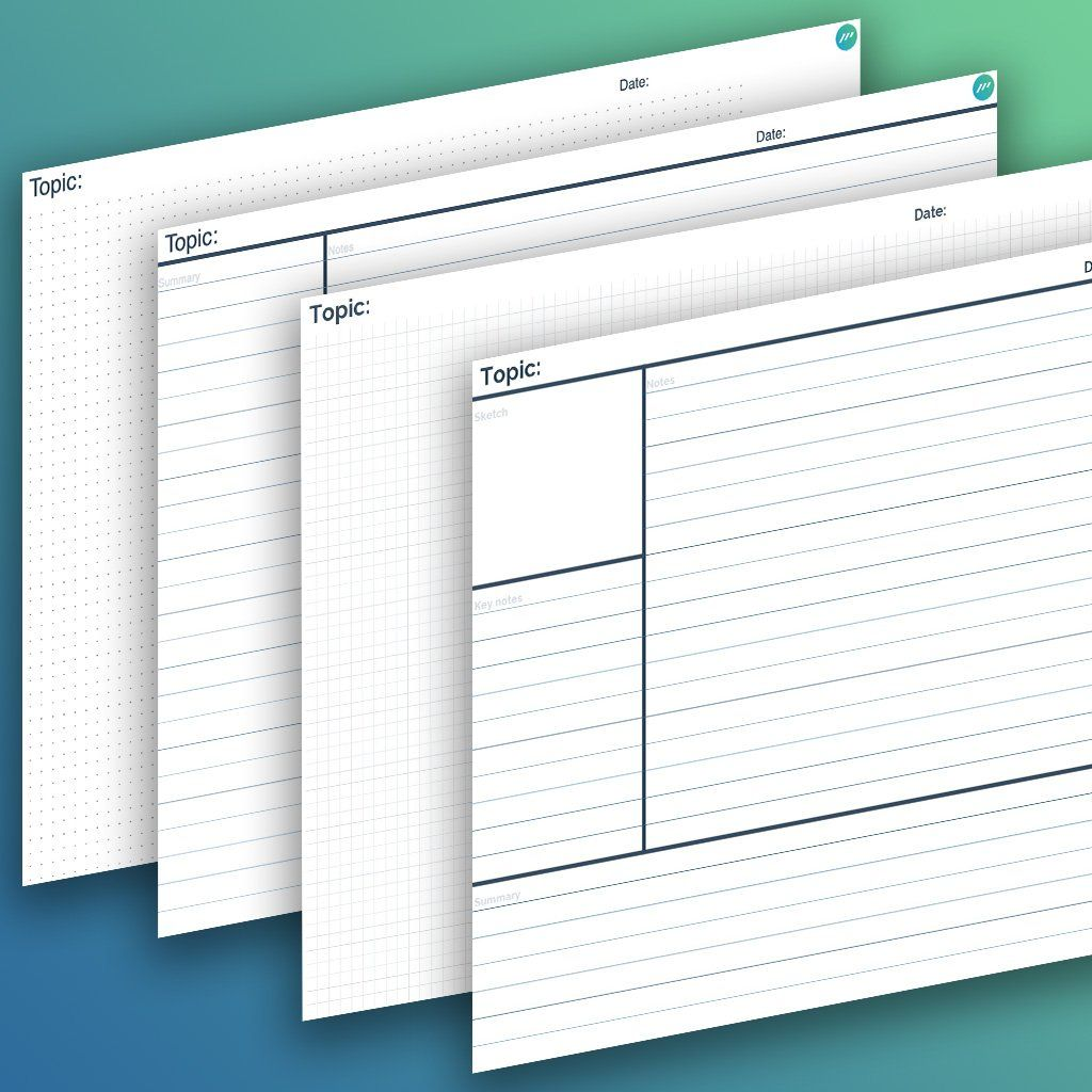 The Outstanding Note Taking Template Video Worksheet Doc