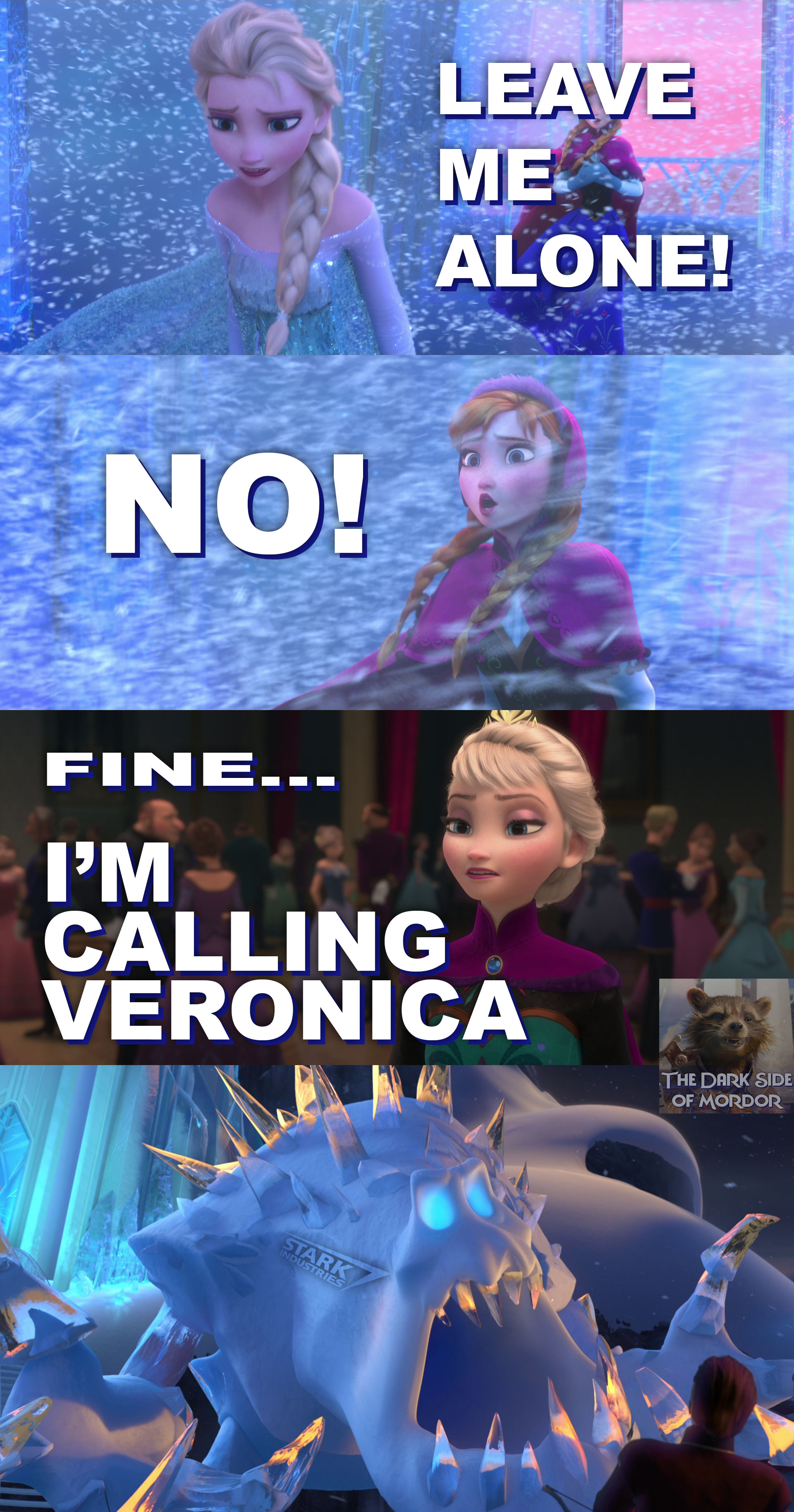 Frozen - Avengers Age of Ultron crossover