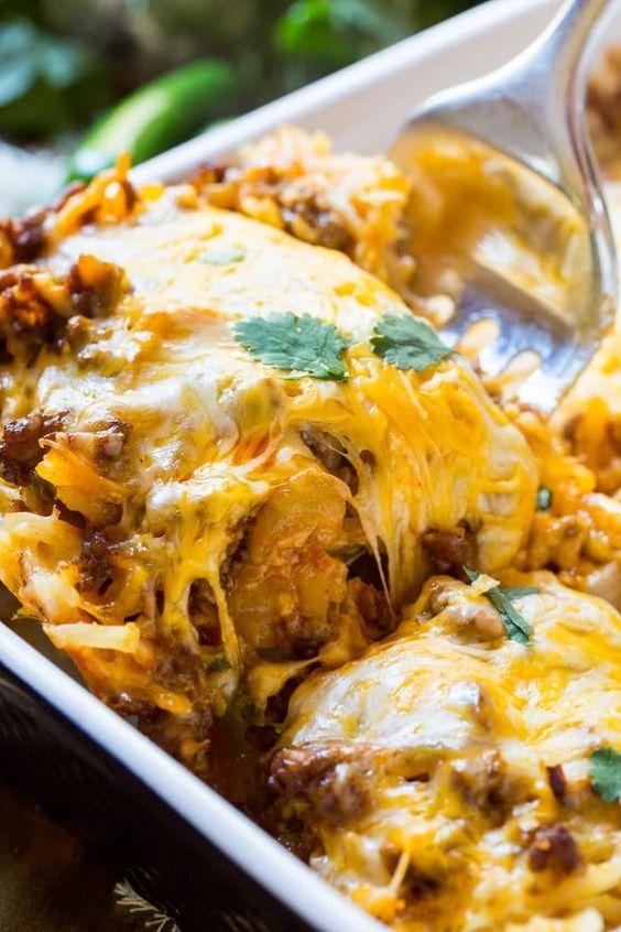 Chorizo Hash Brown Casserole images