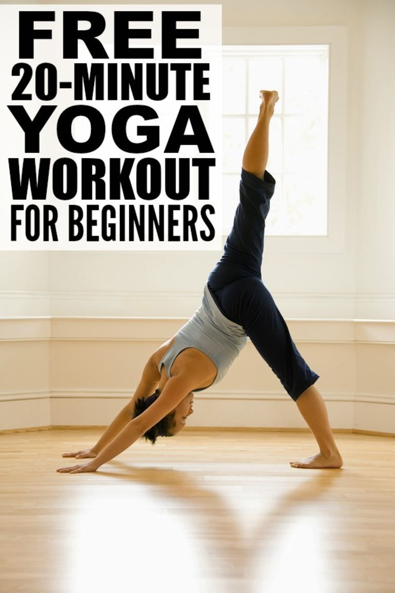 20minute yoga workout for complete beginners Easy yoga