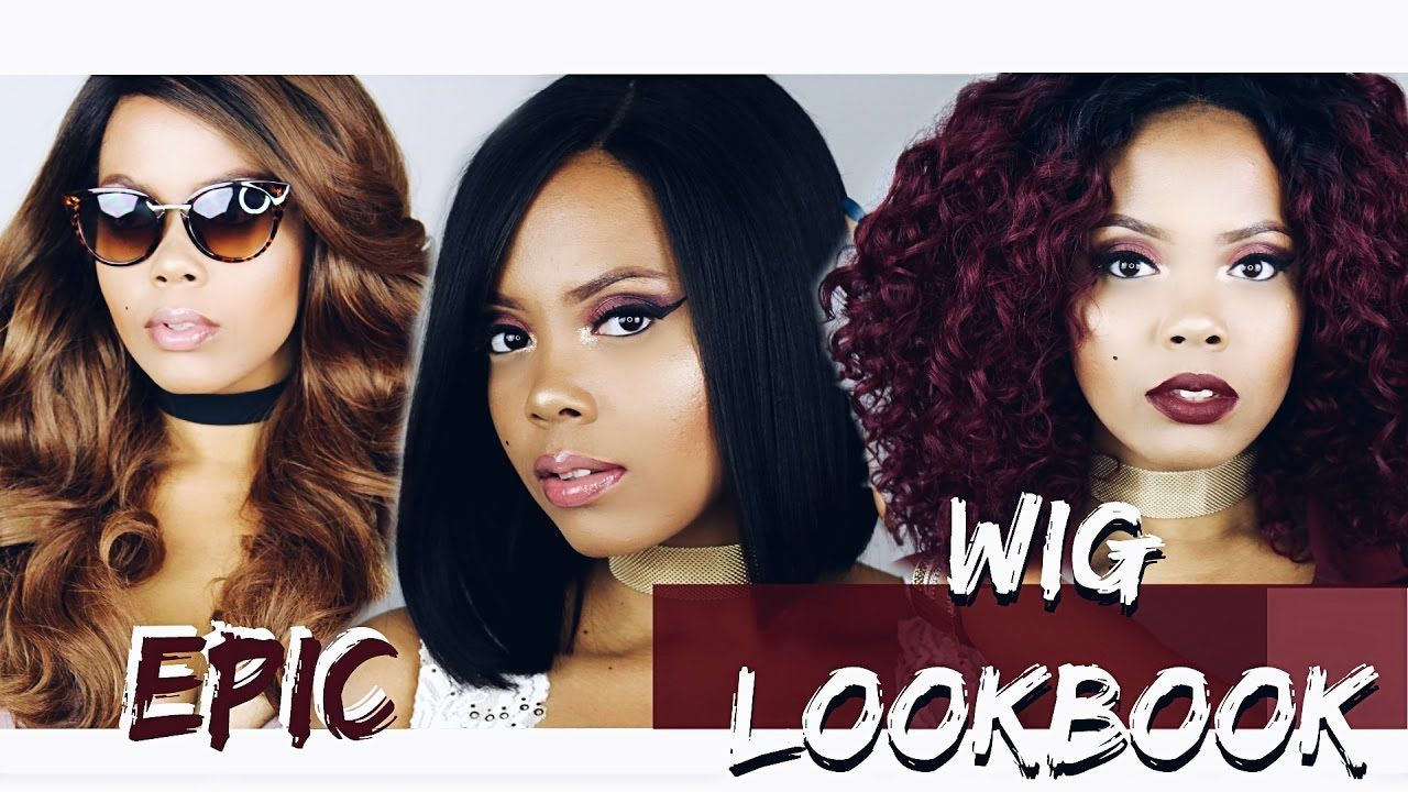 THE MOST EPIC HOLIDAY  WIG LOOKBOOK  OUTRE EMMY WIG GIVEAWAY
