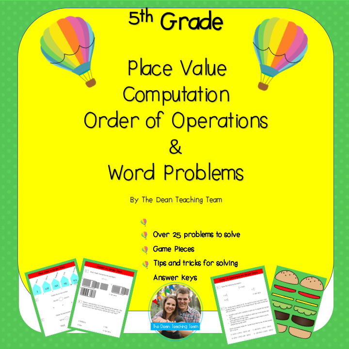 FREE 5th Grade Math Download! Help your 5th grader