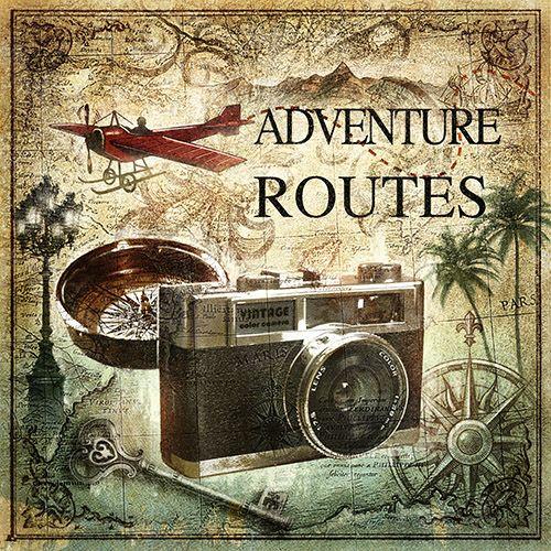 Jf 0095 gr3 cuadro c mara de fotos vintage adventure - Cuadros de fotos ...