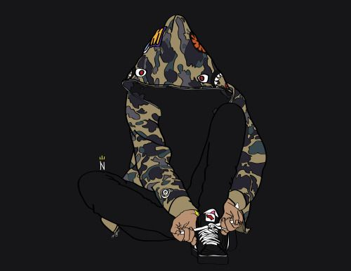 Bape Wallpaper Bape Wallpapers Bape Art Cute Cartoon Wallpapers