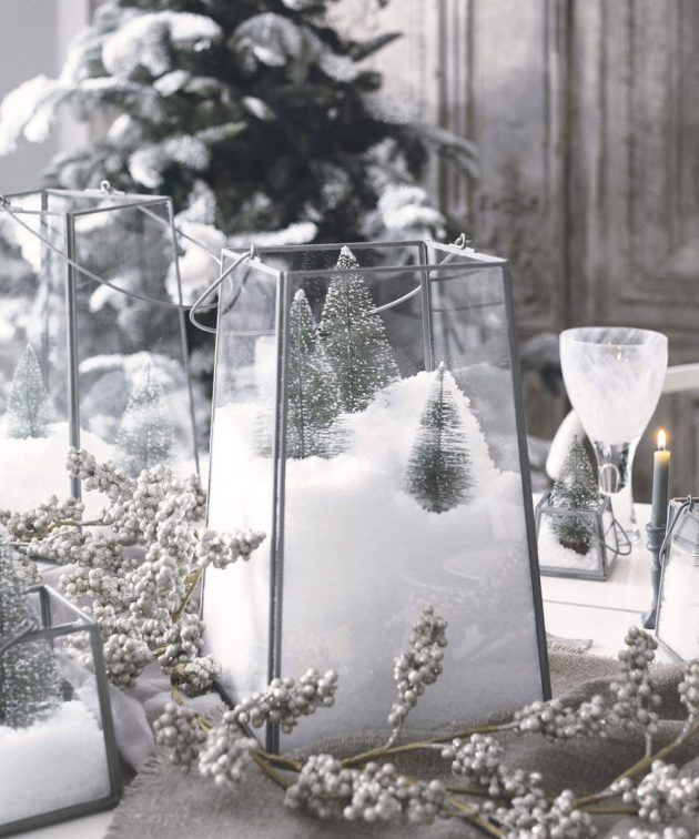 Christmas table decoration ideas images