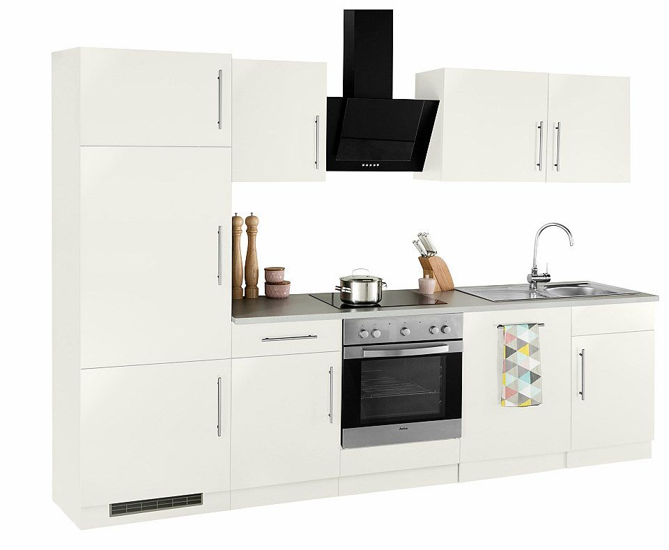 Küchenzeile »Cali« mit E-Geräten, Breite 280 cm Jetzt bestellen - küchenblock ohne e geräte