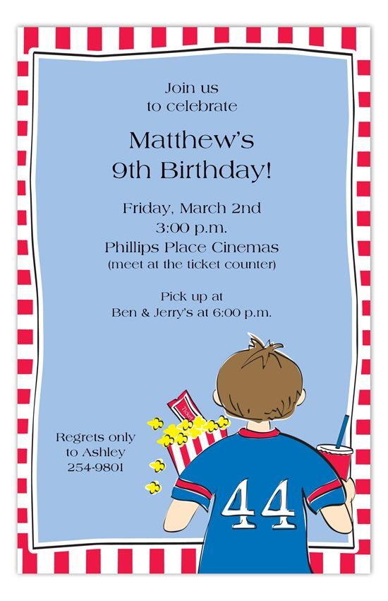 Boys Night Out Invitation Birthday party ideas