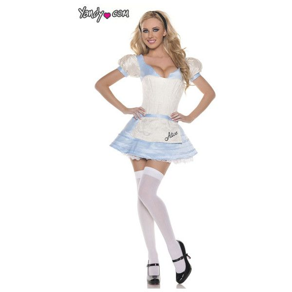 Perfect Lovely Alice In Wonderland Costume, Lovely Alice Halloween Costume, Lovely  Alice Costume, Sexy