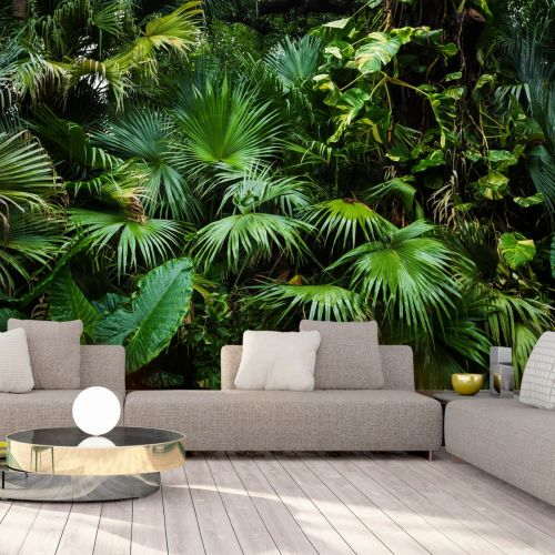 Fototapeta Sloneczna Dzungla In 2020 Jungle Wallpaper Jungle Wall Mural Tropical Wallpaper