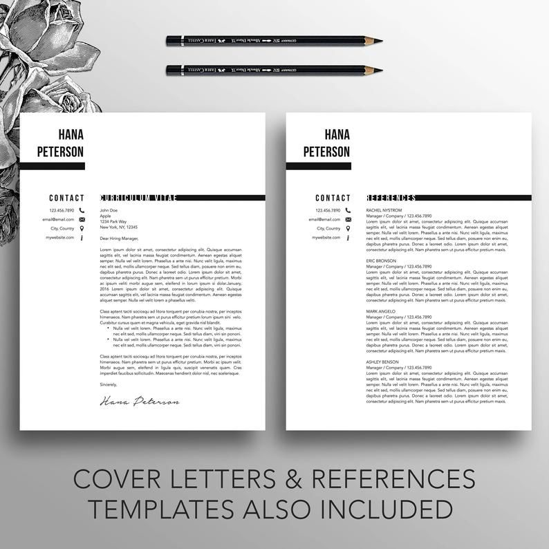 Pin On Creative Resume Templates