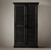 Shutter Cabinets Restoration Hardware Media And Other Storage Shutters Old Door Projects Cabinet