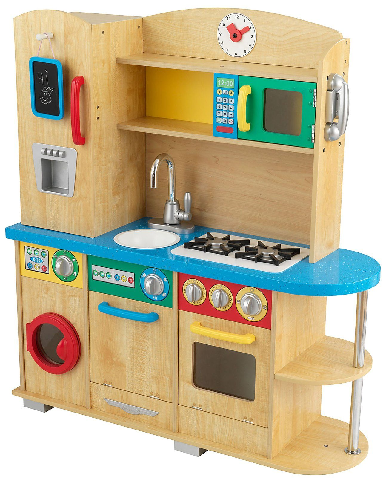 Baby Toys · Fully Stocked! KidKraft Cook Together Kitchen