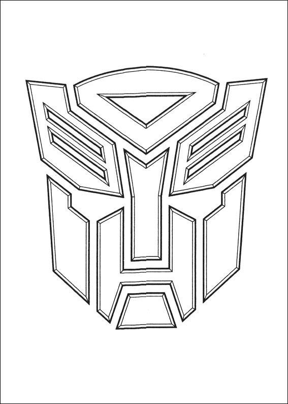 Transformers 037 coloring page Bumblebee cake spiration