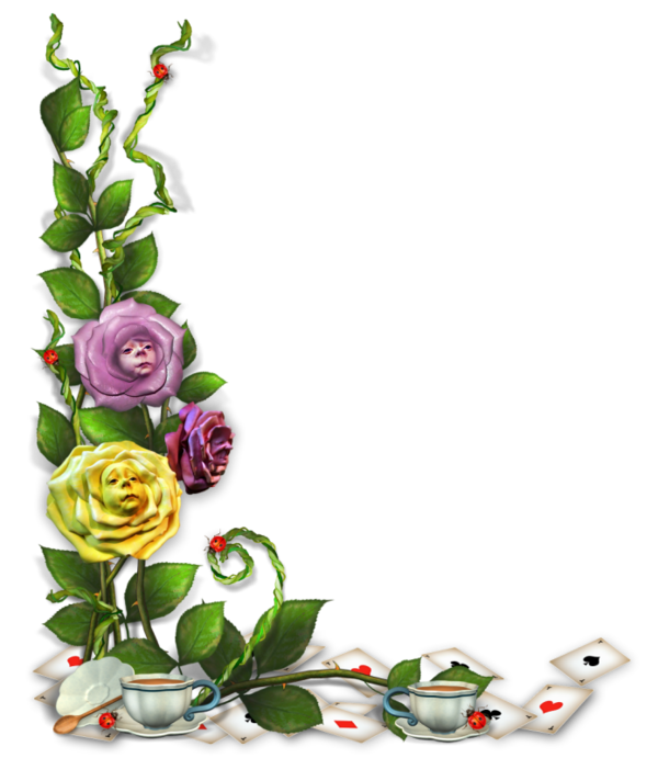 Pin By Mag Da Lena On Png Rohy Alice In Wonderland Flowers Flower Wreath Christmas Bells