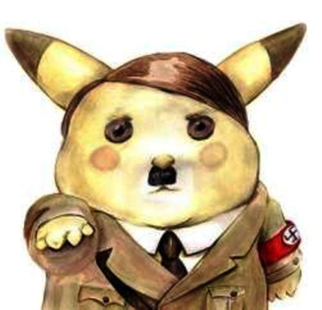 Pika Heil Pikas Funny Memes Pikachu