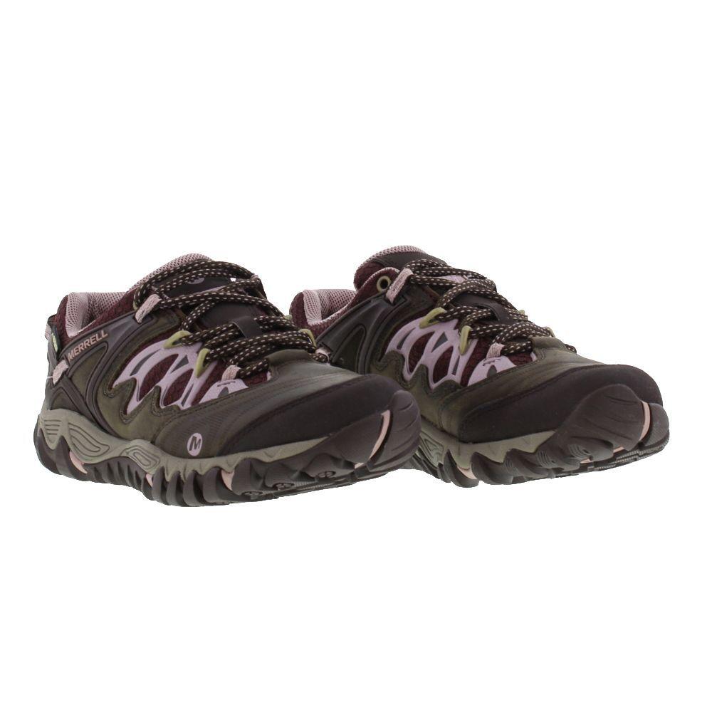 Merrell Shoes, Womens Allout Blaze GTX Waterproof Slate Blush - £94.99