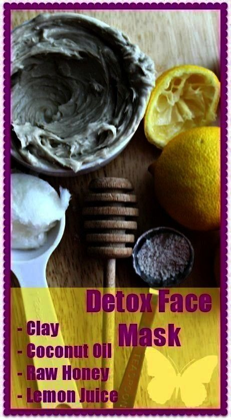 diy This detoxifying DIY face mask for pores features bentonite clay honey coconut oil and lemon juice as its ingredients Just make sure not to use metallic bowls to avoi...
