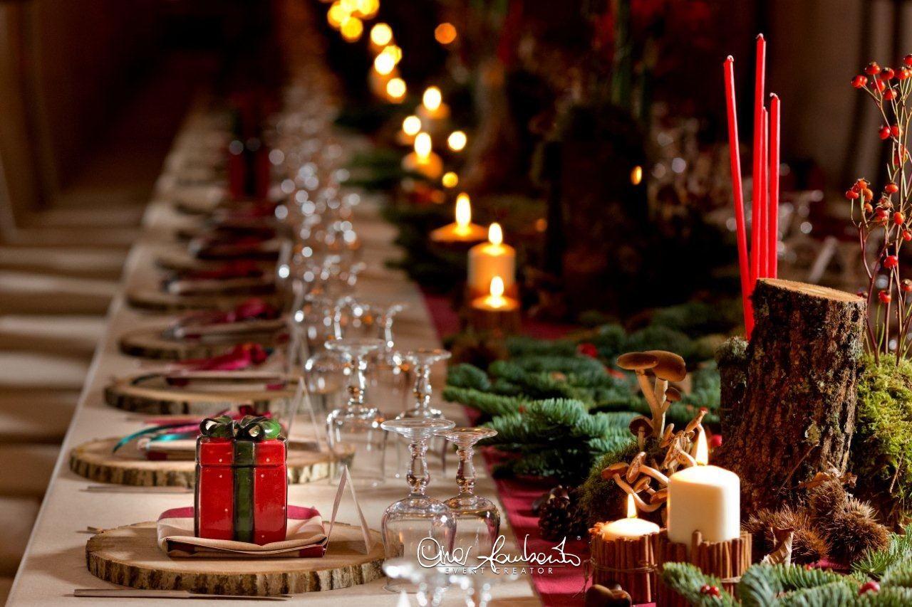 Tavola Per Natale Foto idee per la tavola di natale da allestire con eleganza e