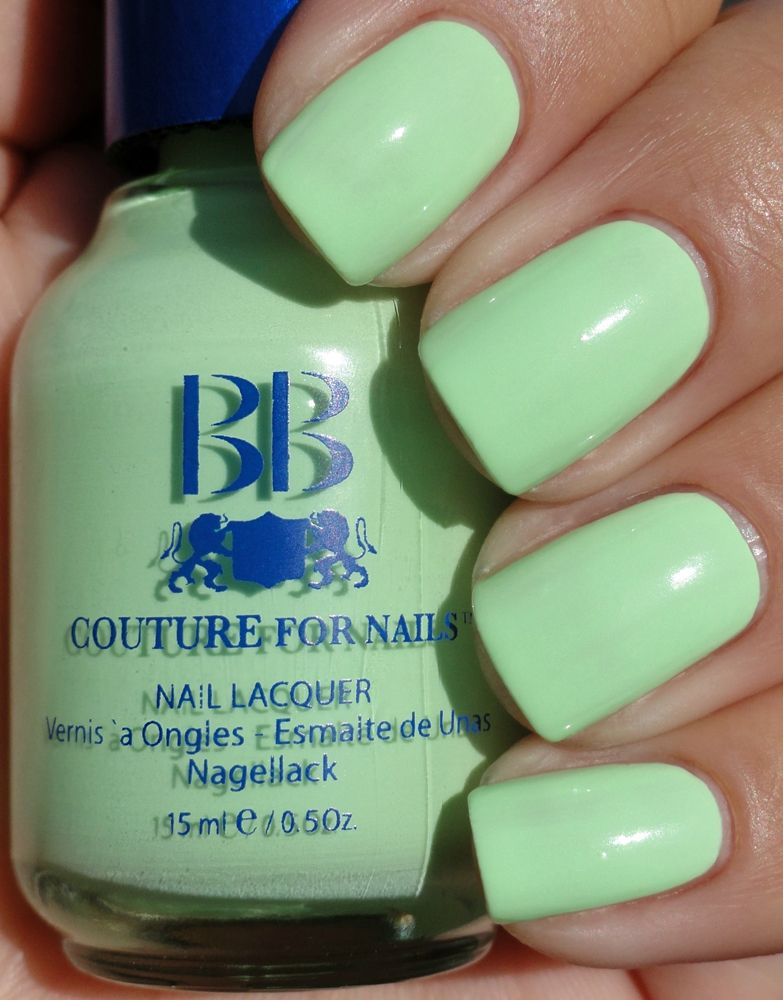Buy soft, cool and safe Neon Pistachio Creme Nail Polish Color, USA ...
