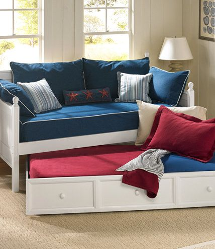 Farmhouse Daybed Trundle: Beds at L.L.Bean | Art studio | Pinterest