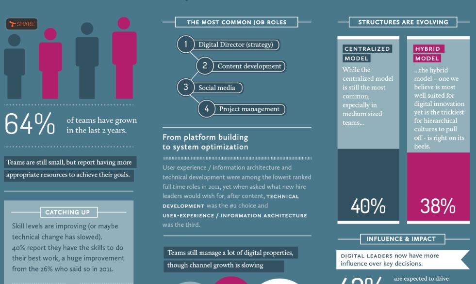 Communicopia Digital Team Report 2014 Job roles
