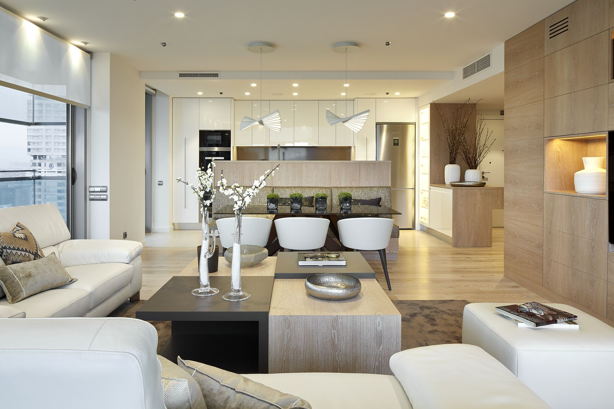 Molins interiors arquitectura interior interiorismo - Interiorismo salon comedor ...
