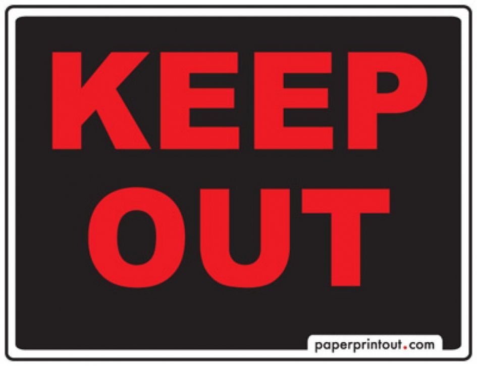 Keep Out Signs for Bedroom Doors - Interior Design for Bedrooms ...