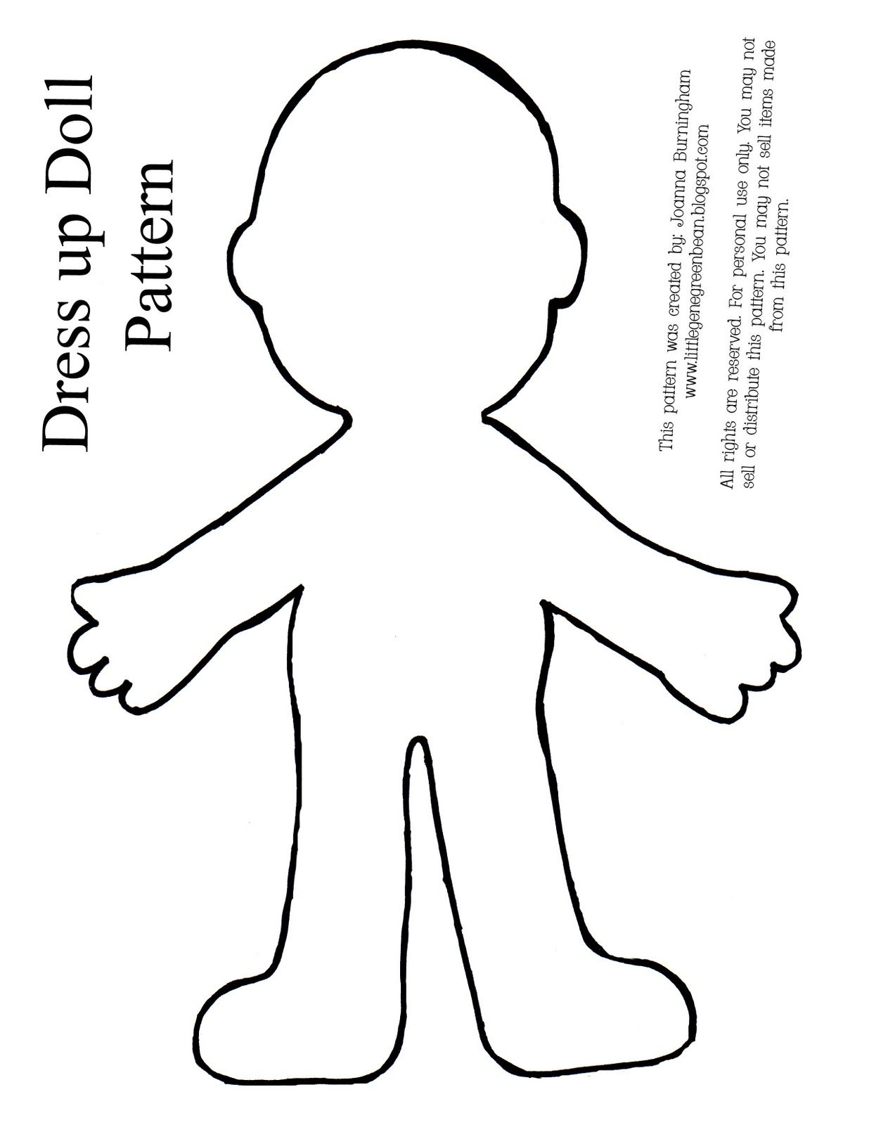 Make dolls and clothing from felt. I'd also add small