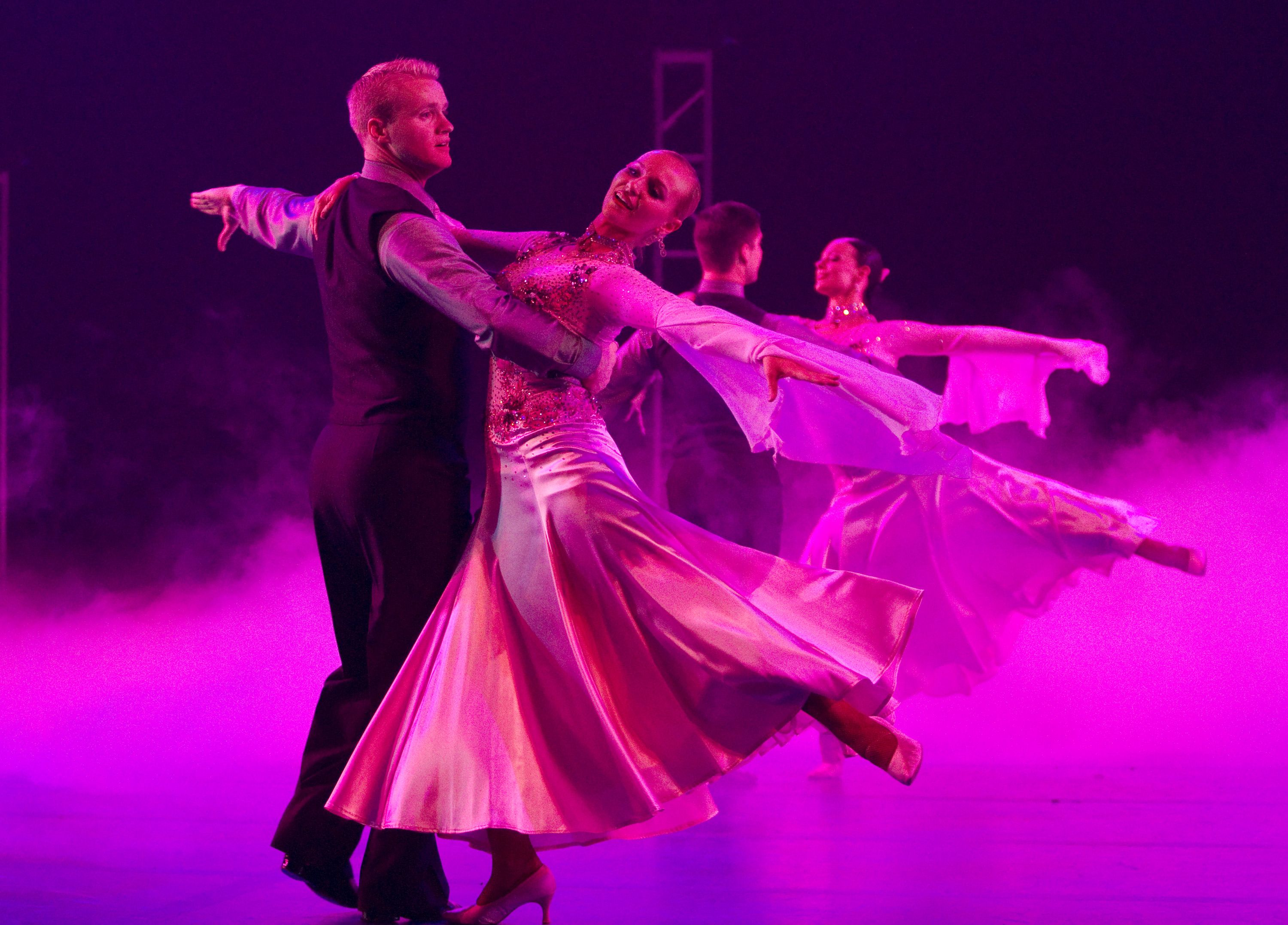 Byu Ballroom Dance Company Invites Audiences To Imagine April 8 9 Dance Company Dance Ballroom Dance