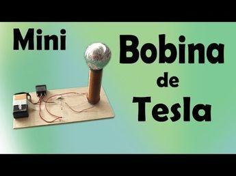 Como Hacer Una Bobina De Tesla Casera Bobina De Tesla Bobina De Tesla Casera Proyectos De Fisica